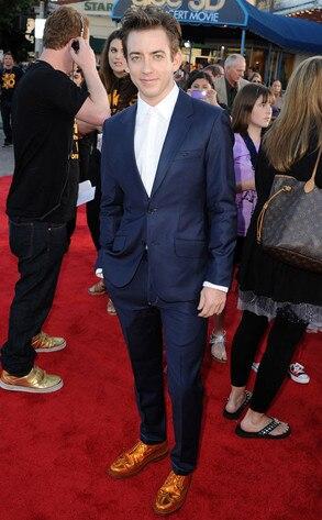 Glee Premiere, Kevin McHale