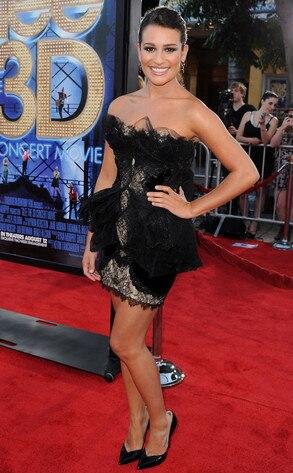 Glee Premiere, Lea Michele