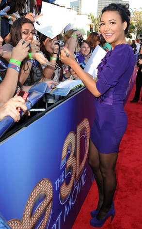 Glee Premiere, Naya Rivera