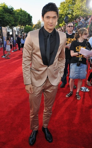 Harry Shum Jr., Glee Premiere