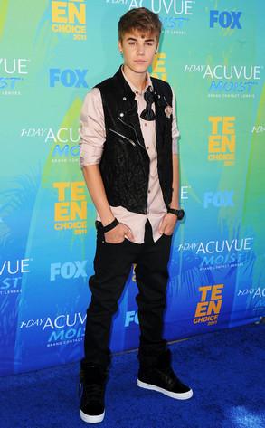 Teen Choice Awards, Justin Bieber
