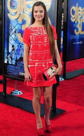 Glee Premiere, Hailee Steinfeld