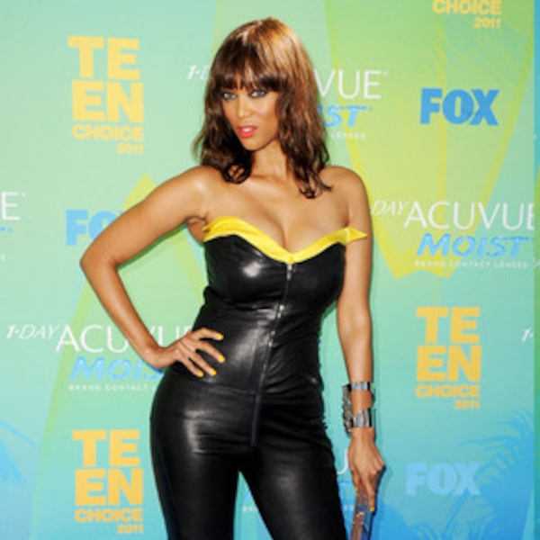 Tyra Banks From Catsuit Creatures