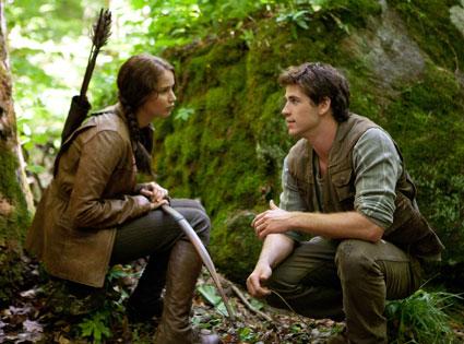 The Hunger Games, Jennifer Lawrence, Liam Hemsworth