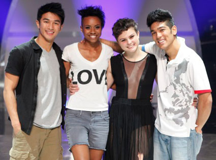 Marko Germar, Sasha Mallory, Melanie Moore, Tadd Gadduang, SO YOU THINK YOU CAN DANCE