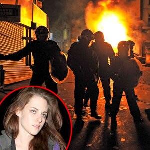 London Riot, Kristen Stewart