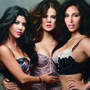 Kim Kardashian, Kourtney Kardashian, Khloe Kardashian Odom, Sears Lingerie Ad