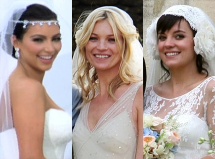 Kim Kardashian, Kate Moss, Lily Allen