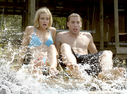 Sara Paxton, Dustin Milligan, Shark Night 3D