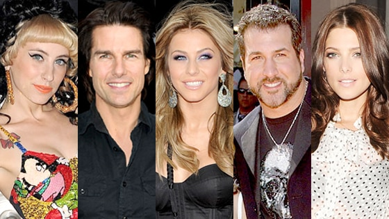 Kreayshawn, Tom Cruise, Julianne Hough, Joey Fatone, Ashley Greene