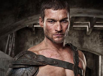 Andy Whitfield, Spartacus