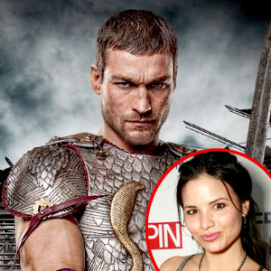 Andy Whitfield, Spartacus, Katrina Law