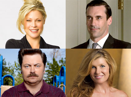 Julie Bowen, Modern Family, Jon Hamm, Mad Men, Nick Offerman, Parks and Recreation, Connie Britton, Friday Night Lights