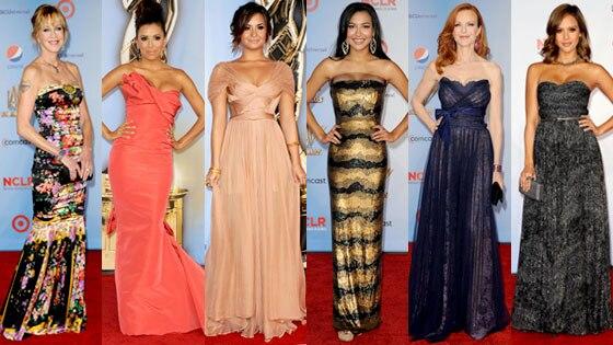 Melanie Griffith, Eva Longoria, Demi Lovato, Naya Rivera, Marcia Cross, Jessica Alba