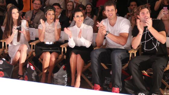 Kendall Jenner, Kourtney Kardashian, Kim Kardashian, Kris Humphries, Brody Jenner