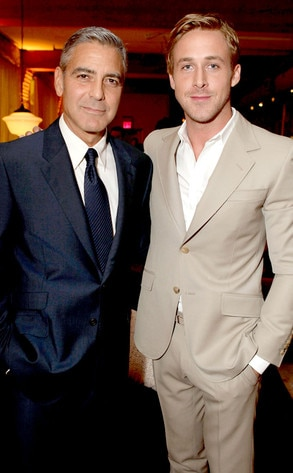 Ryan Gosling, George Clooney