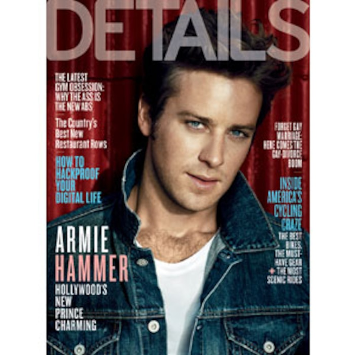 Armie Hammer, Details Cover