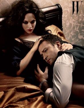 Amanda Seyfried, Justin Timberlake, W Magazine