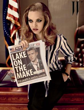 Amanda Seyfried, W Magazine