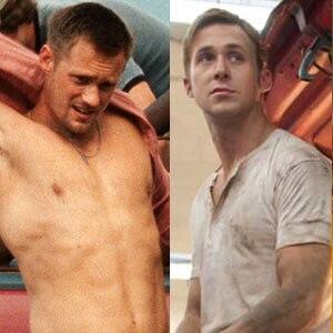 Ryan Gosling, Alexander Skarsgard, Drive, Straw Dogs