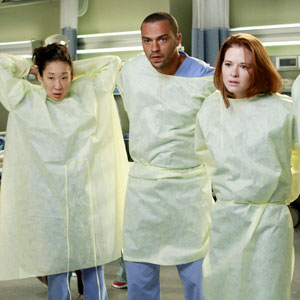 GREY'S ANATOMY, SANDRA OH, JESSE WILLIAMS, SARAH DREW