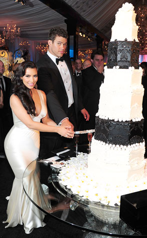 Kim Kardashian Kris Humphries Wedding