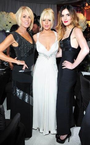 Kim Kardashian, Wedding, Dina Lohan, Lindsay Lohan, Ali Lohan