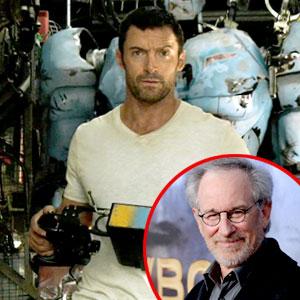 Hugh Jackman, Real Steel, Steven Spielberg