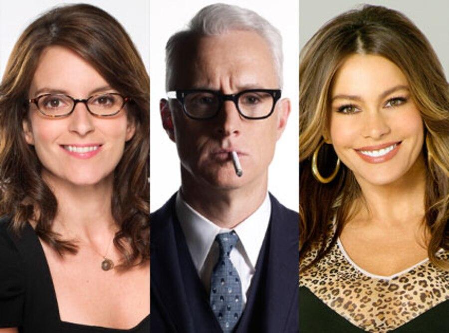 Sophia Vergara, Modern Family, John Slattery, Mad Man, Tina Fey, 30 Rock