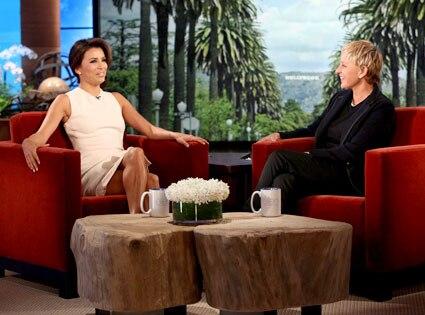 EVA LONGORIA, Ellen DeGeneres