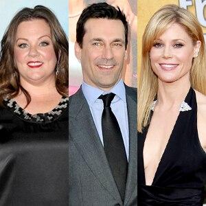 Melissa McCarthy, Jon Hamm, Julie Bowen