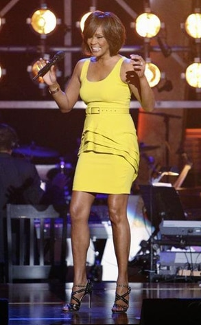 Whitney Houston, Dancing with the Stars Performances, DWTS