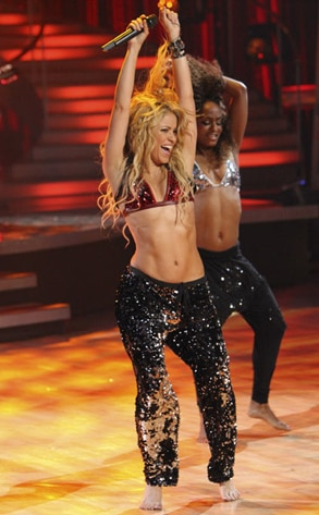 Shakira, Dancing with the Stars Performances, DWTS