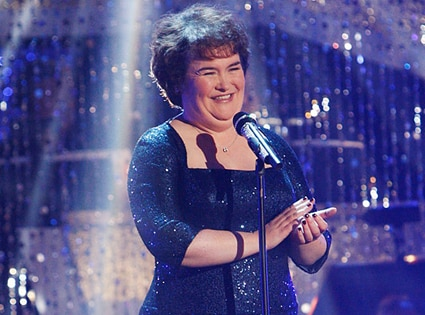 Susan Boyle, Dancing with the Stars Performances, DWTS