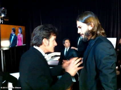 Charlie Sheen, WhoSay, Emmys Twitter Pictures