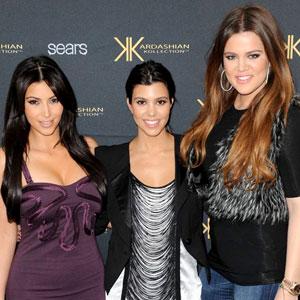 Kim Kardashian, Kourtney Kardashian, Khloe Kardashian Odom