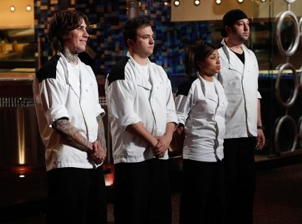 Hell's Kitchen Final 4, Tommy, Paul, Elise, Will