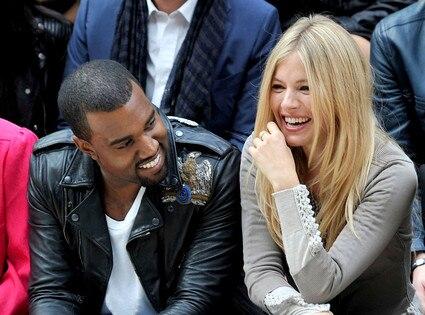 Kanye West, Sienna Miller