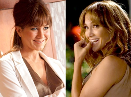 Jennifer Aniston, Horrible Bosses, Jennifer Lopez,The Backup Plan