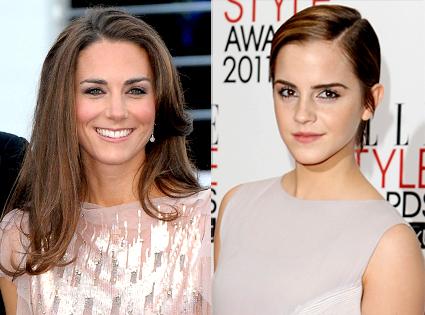 Emma Watson, Duchess Catherine , Kate Middleton, Queen of Summer
