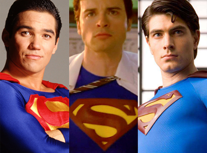 Sueprman, Brandon Routh, Dean Cain, Tom Welling
