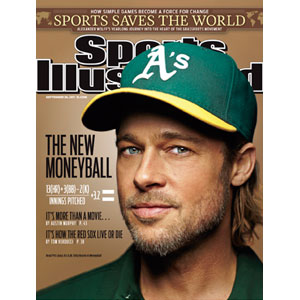 Brad Pitt, Sports Illustrated Cover