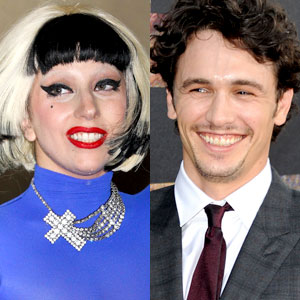Lady Gaga, James Franco
