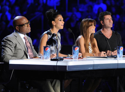 X Factor, L.A. Reid, Nicole Scherzinger, Paula Abdul, Simon Cowell
