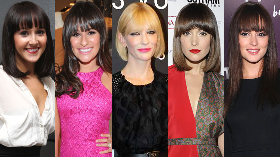 Rose Byrne, Lea Michele, Cate Blanchett, Ashley Hebert Leighton Meester