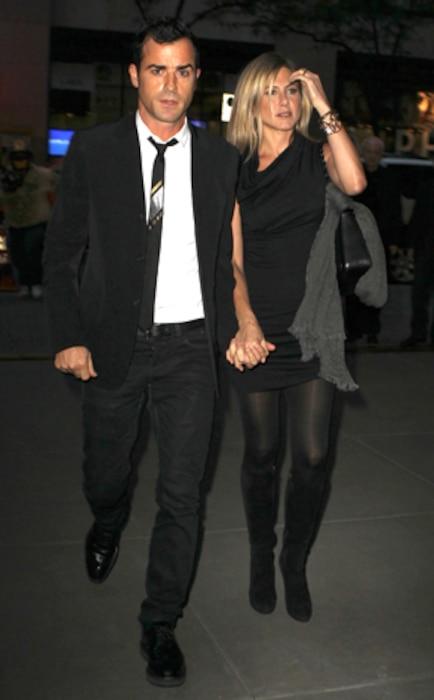 Jennifer Aniston, Justin Therou