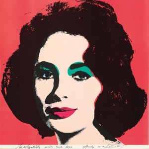 Elizabeth Taylor, Andy Warhol