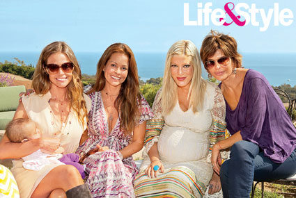 Denise Richards, Brooke Burke, Tori Spelling, Lisa Rinna