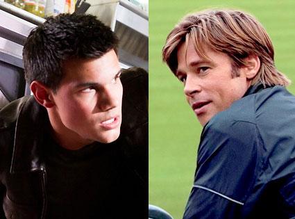 Taylor Lautner, Abduction, Brad Pitt, Moneyball