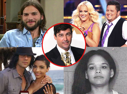 Ashton Kutcher, Kyle Chandler, Chaz Bono, Lacey Schwimmer, Ebony Jackson, Criss Angel